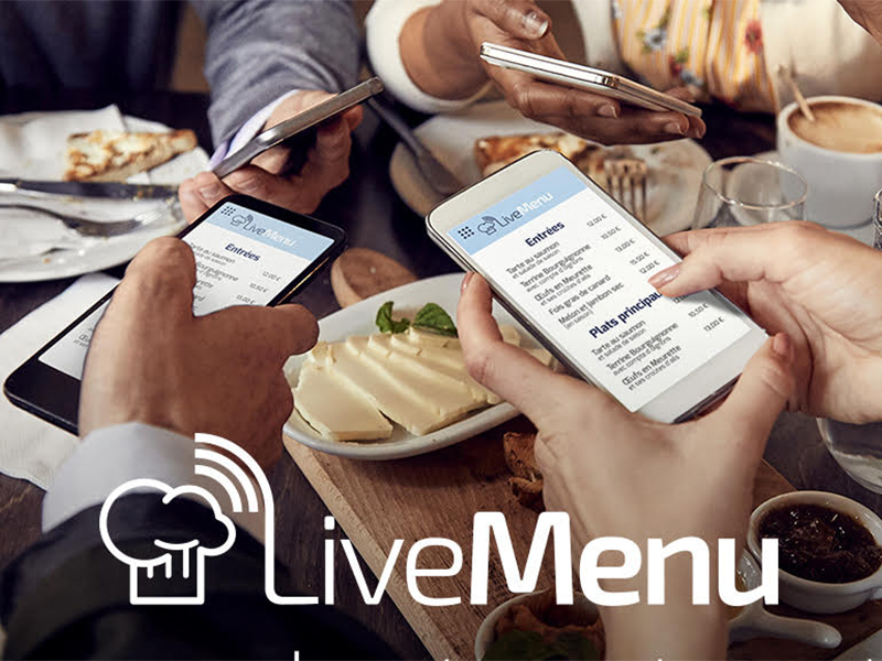 LiveMenu Illustration