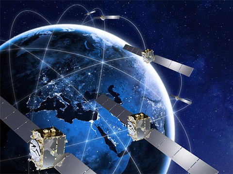 Galileo, Thales alenia Space contrat