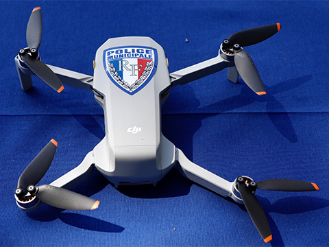 Drone police municipale Nice