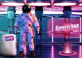 Esports Bar illustration