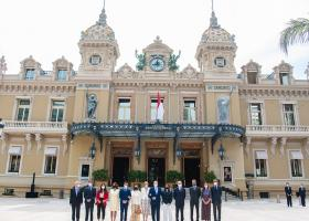 Monaco inauguration place du Casino