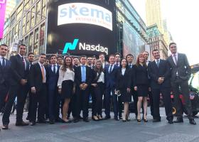 Skema au Nasdaq à New York