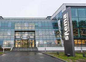 Skema Campus Grand Paris Entree