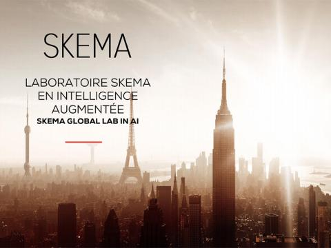 Skema affiche global Lab IA