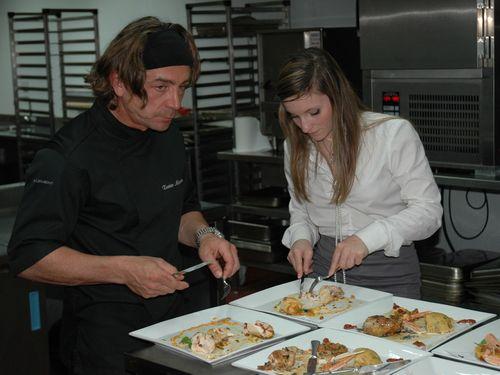 Inversion des r les pour no mie honiat webtimemedias for Cuisine xavier laurent