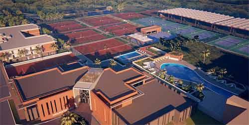Sophia premi re pierre pour la mouratoglou tennis - Sophia antipolis piscine ...