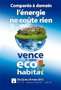Vence hubert reeves grand t moin du 5 me salon eco for Salon eco habitat
