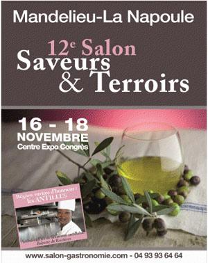 Mandelieu les antilles en vedette au salon saveurs - Office du tourisme mandelieu la napoule ...