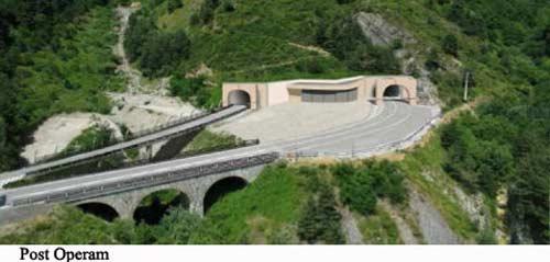 Tende A Tunnel.Les Travaux De Percement Du Nouveau Tunnel Du Col De Tende